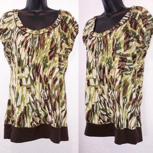 Maurice's green blouse